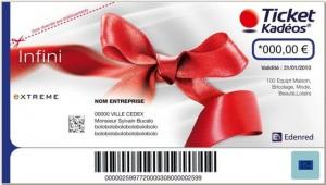 chèque cadeau Kadéos attribué par CE